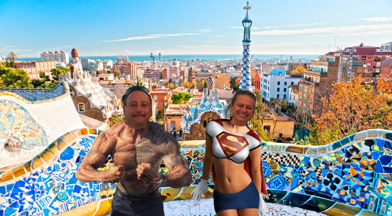 Viel Spaß in Barcelona